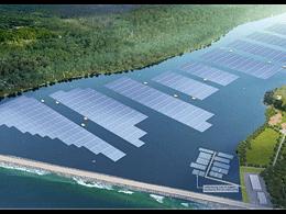 全球最大内陆漂浮式电站,天合光能210至尊组件助力新加坡实现100%绿色供水