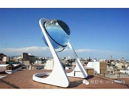 跟着太阳转的太阳能发电设备,真牛!