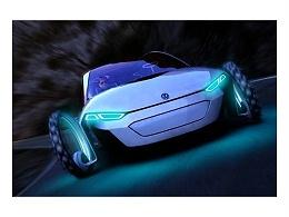 大众发布概念电动汽车 自带太阳能电池板