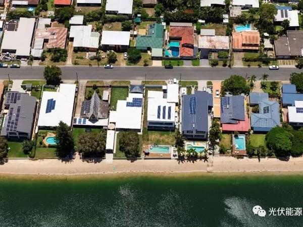 澳大利亚五分之一家庭均安装光伏太阳能发电!