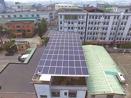 大岭山22.4KW居民楼光伏发电系统案例