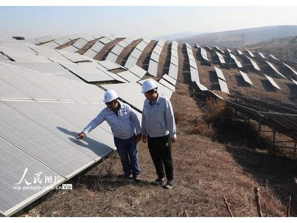 河北唐山:荒山变身光伏电站--星火太阳能