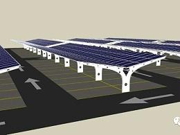 太阳能光伏停车棚