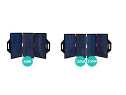120W太阳能充电板折叠充电包ETFE