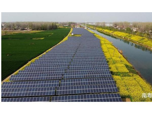 广东韶关三座农光互补光伏发电站,总投资25.8亿元,发电量超6亿度