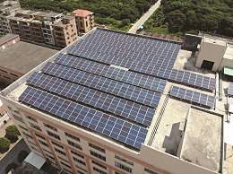 茶山427.96KW太阳能光伏发电项目案例
